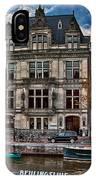 Beulingsluis. Amsterdam IPhone Case