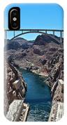 Beyond The Hoover Dam Spillway IPhone Case