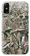 Bicycle Park In Beijing In China IPhone Case