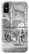Bicycle Tournament, 1869 IPhone Case