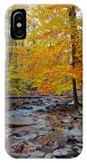 Big Hunting Creek Down Stream From Cunningham Falls IPhone Case
