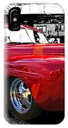 Big Red Abstract IPhone Case
