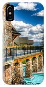 Big Sky Ski Resort Montana IPhone Case