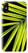 Bight Green Tropical Plant IPhone Case