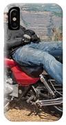 Biker Back Rest IPhone Case