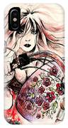 Biker Girl IPhone Case