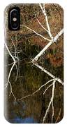 Birch Lake Reflections IPhone Case