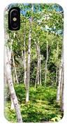 Birch Path IPhone Case