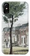 Birch: Philadelphia, 1800 IPhone Case