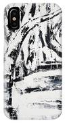 Birch Trees By The Brook IPhone Case