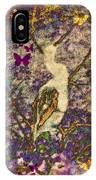 Bird And Butterflies IPhone Case