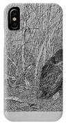 Bird In Winter IPhone Case