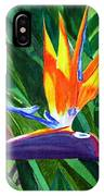 Bird-of-paradise IPhone Case