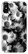 Black And White Flowers IPhone Case