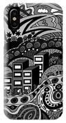Black And White Seaside IPhone Case
