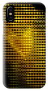 Black And Yellow Abstract I IPhone Case