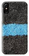 Black Blue Lawn IPhone Case
