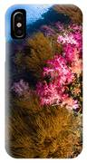 Black Coral And Soft Coral Seascape IPhone Case