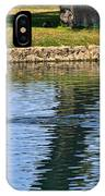 Black Swan's In Palm Springs IPhone Case