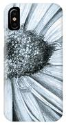 Black White Gerber IPhone Case