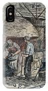 Blacksmith, C1865 IPhone Case