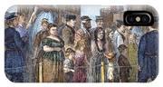 Blackwells Island, 1868 IPhone Case