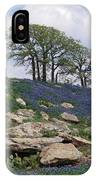 Blanketed In Blue IPhone Case