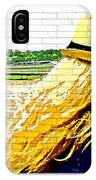 Blonde At Racetrack IPhone Case