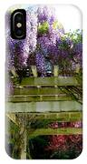 Blooming Wisteria  IPhone Case