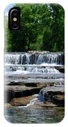 Blossom Road Waterfalls 5123 IPhone Case