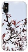 Blossoms In Time IPhone Case