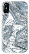 Blue Abstract Art IPhone Case