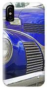 Blue And Chrome Nose IPhone Case