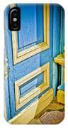 Blue And Yellow Door IPhone Case