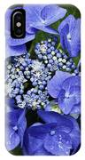 Blue Blossoms IPhone Case