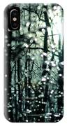 Blue Burns The Twilight IPhone Case