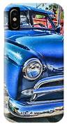 Blue Classic Hdr IPhone Case