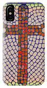 Blue Cross IPhone X Case