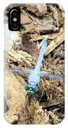 Blue Dragonfly IPhone Case