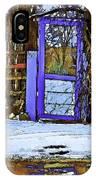 Blue Gate #24 IPhone Case