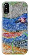 Blue Gator IPhone Case