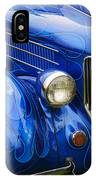 Blue Ghost Flames IPhone Case