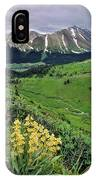 Blue Grouse Pass, Willmore Wilderness IPhone Case