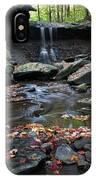 Blue Hen Falls II IPhone Case