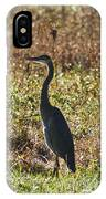 Blue Heron At Valley Forge IPhone Case