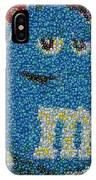 Blue Mm Mosaic IPhone Case