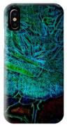 Blue Rose II IPhone Case