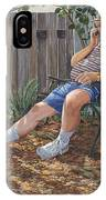 Blue Royal IPhone Case