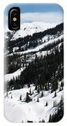 Blue Sky Miners Cabin IPhone Case