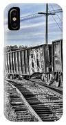 Blue Sky Train2 IPhone Case